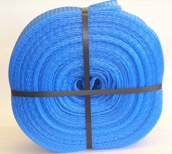 Emballagestrumpa 7-13 cm, blå i rulle om 25 meter