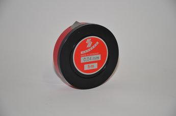 Tolkstål 0,04 mm x 12,7mm tol +/- 0,003 mm, 5 m rul