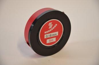 Tolkstål 0,18 mm x 12,7mm tol +/- 0,005 mm, 5 m rul