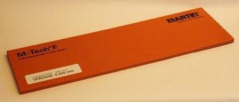 Stålfolie 0,400 mm 5 ark á 150 x 500 mm