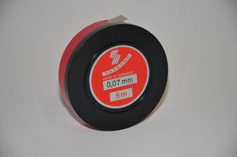 Tolkstål 0,07 mm x 12,7mm tol +/- 0,004 mm, 5 m rul