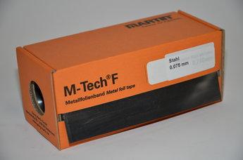 Stålfolie 0,075 mm 150 x 2500 mm, rulle