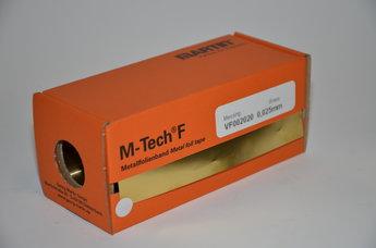 Mässingsfolie 0,025 mm 150 x 2500 mm, rulle