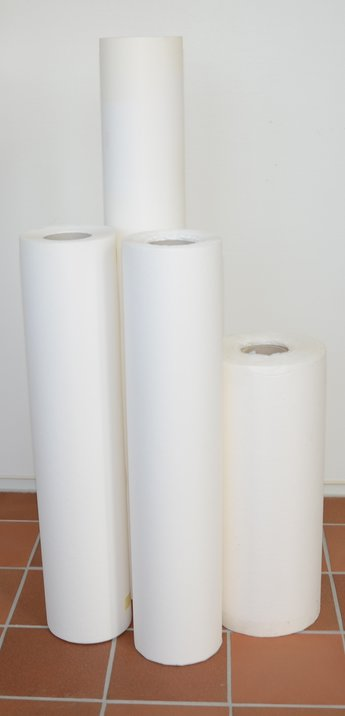 Filterpapper 25 g/m2 70 cm x 100 m, pris/st
