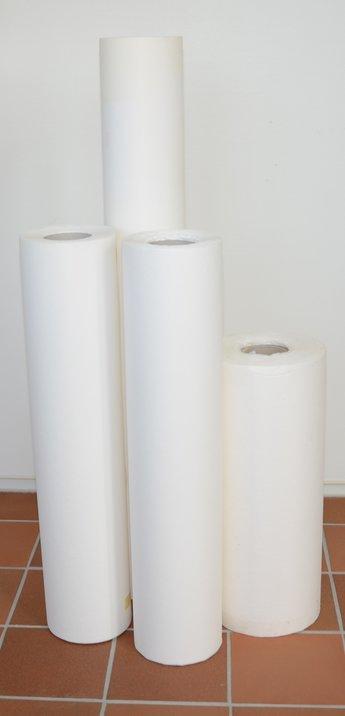 Filterpapper 50 g/m2 diam. ca 280 mm, B=1020mm