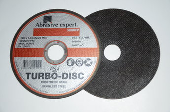 Kapskiva TURBO DISC 125x1.0x22