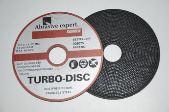 Kapskiva TURBO DISC 115x1.0x22