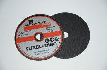 Kapskiva TURBO DISC 75x1.0x10